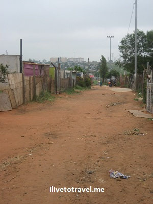 One of the poorest streets in Soweto, South Africa