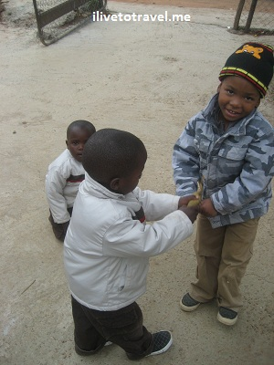 Kids in the streets of Soweto, South Africa