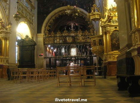 Chapel with the Black Madonna in Jasna Gora in Czestochowa, Poland