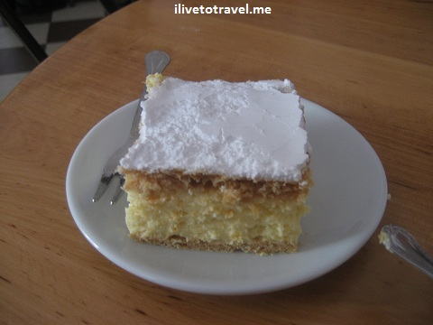 Cream cake, the favorite of Pope John Paul II as a kid