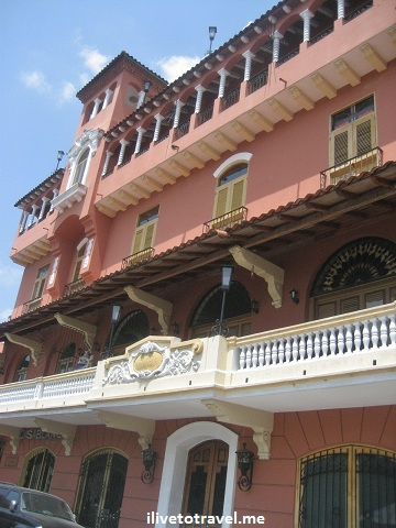 Hotel Colombia in the Casco Viejo (Old Town) in Panama City, Panama