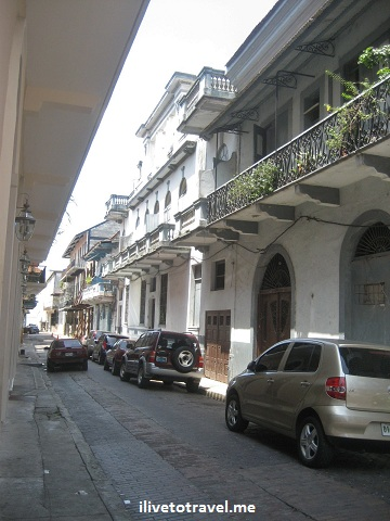 Around the Casco Viejo (Old Town) in Panama City, Panama