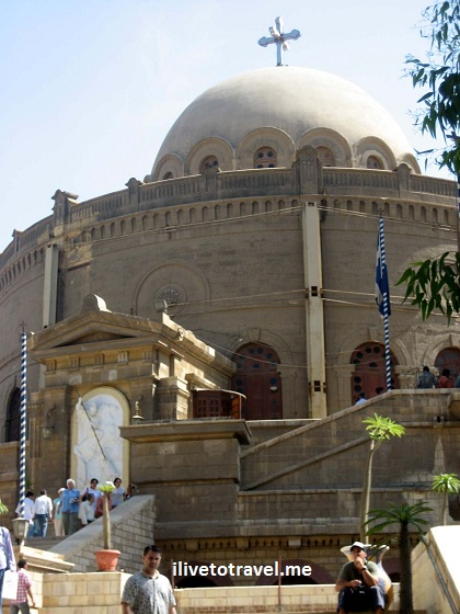 Church of St. George in Old City Cairo, Egypt