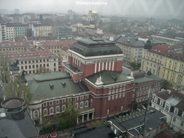 National Theater in Sofia, Bulgaria