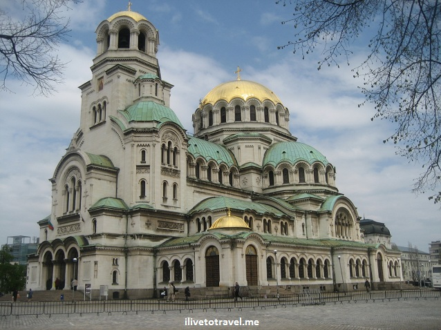Cathedral of Alexander Nevski in Sofia, Bulgaria - Orthodox Church