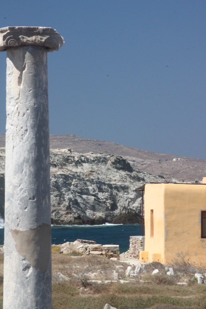 Delos Island near Mykonos, Greece