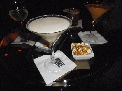 Signature drink at the Sofitel Water Tower in Chicago: the Wrigleyville