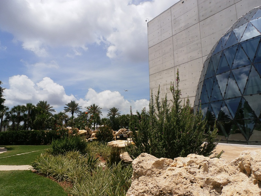 Grounds of the Dali Museum in St. Petersburg, Florida