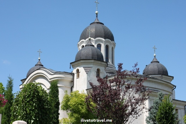 St. Dumitru Church in the Curchi Monastery