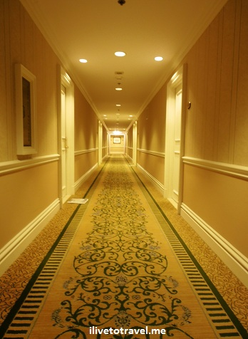 Hallway at the Mayflower Hotel in Washington D.C., a Renaissance property