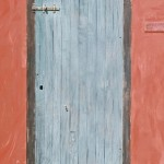 Architecture (door) in Willemstad, Curacao