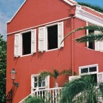Architecture in Otrobanda in Willemstad, Curacao