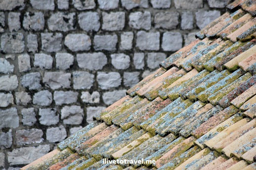 Tiled roof of Dubrovnik, Croatia