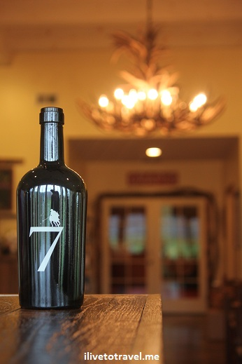 King Family vineyards' Seven - a great wine from Virginia!