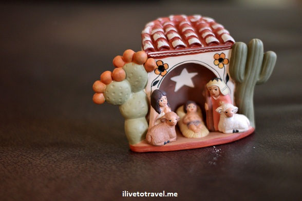 Nativity scene from Chile - Christmas