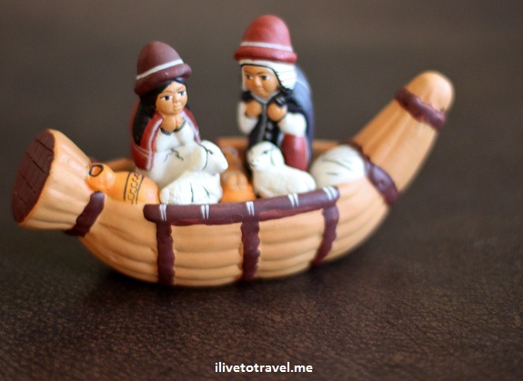 Nativity scene from Peru - Christmas