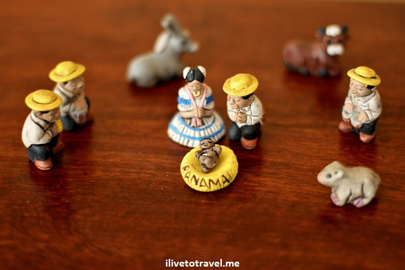 Nativity scene from Panama - Christmas
