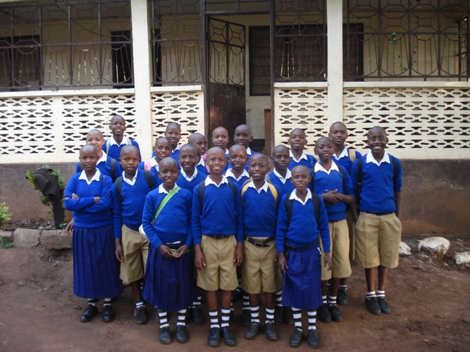 Kids, uniform, Tanzania