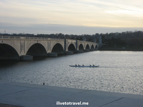 Rowers on the Potomac