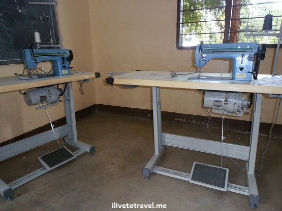 New sewing room at the Kili Centre in Moshi, Tanzania