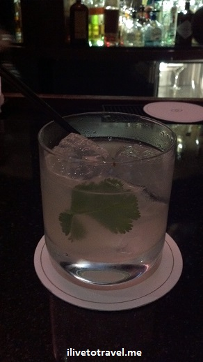The Bogart from Le Bar at the Sofitel - Hendrick's gin