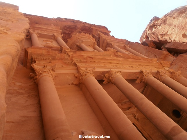 Petra's Treasury in Jordan